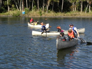 Retreat & Conference Center Activities: Canoeing on TMI Lake